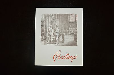 Boy Scout Xmas card - Scout Ink Series No.789 - in very good condition