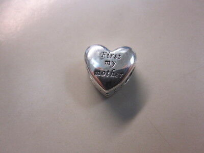e8c376d40 Pandora First My Mother Forever My Friend Charm-791518 -Free Ship-Free Gift