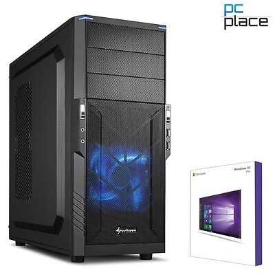 Quad Core PC GAMER A8 7600 4x 3,8GHz 8GB 120GB SSD Komplett Windows 10 Computer