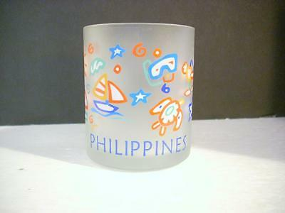 Philippines Souvenir Frosted Cup Mug    (G2)