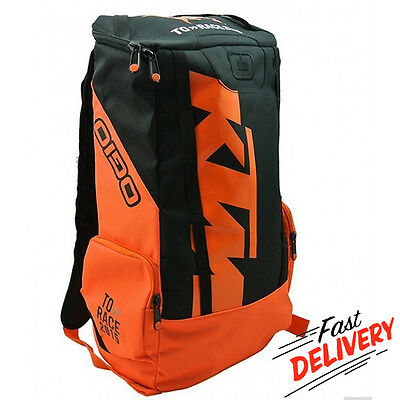 KTM Motorcycle Motocross Enduro Bike Backpack Rucksack Casual Rucksack