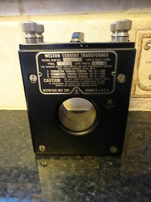 Weston Current Transformer model 539