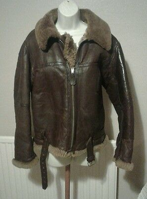 WW2 Sheepskin Flying Jacket
