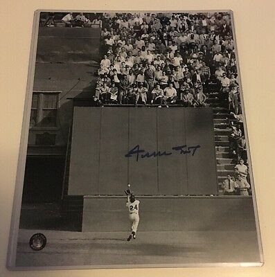 WILLIE MAYS Giants HOF Autographed Auto 8x10 Photo SayHey Certified (JSA PSA) #1