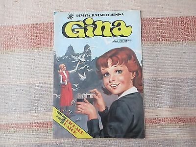 Revista femenina Gina años 70 nº 66 / Spanish teenager magazine 70s