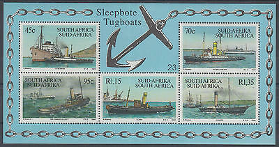 XG-A200 SOUTH AFRICA IND - Ships, 1994 Tugboats MNH Sheet