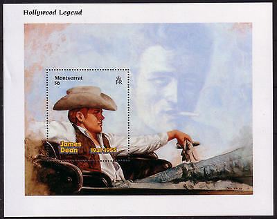 XG-A276 CINEMA - Tanzania, 1996 Hollywood Legend James Dean MNH Sheet