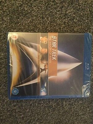 Star Trek ll The Wrath Of Khan NEW Blu Ray