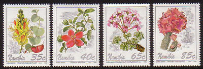 XG-A352 FLOWERS - Namibia, 1994 4 Values MNH Set