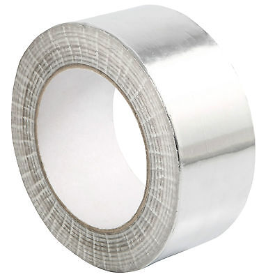 Aluminium Foil Tape 3 Rolls Self Adhesive Quality Heat Insulation Tape48Mm X 50M