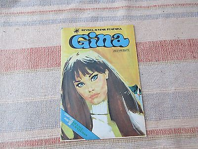 Revista femenina Gina, nº 70, año 1979 /Spanish teenager magazine 70s