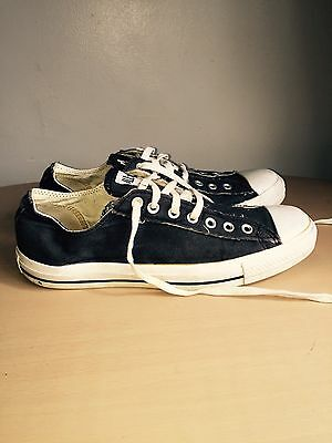 Black And White Converse Lo-tops UK Men's 11