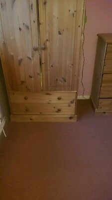 childrens pine wardrobe