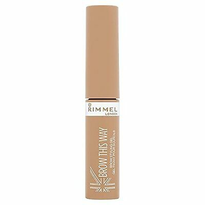 Rimmel Brow This Way Brow Styling Gel Blonde 001