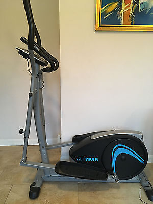 York CROSS TRAINER for fitness & cardio low impact workout, EXCELLENT CONDITION