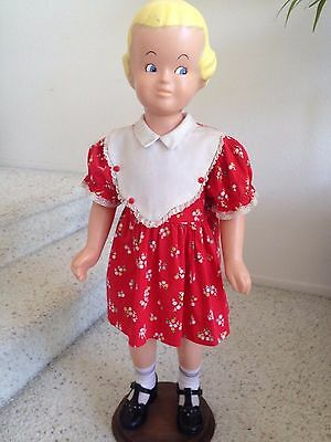"""Vintage Buster Brown Store Mannequin..old King Cole Inc. (Size 2 Garment) 34"""""""
