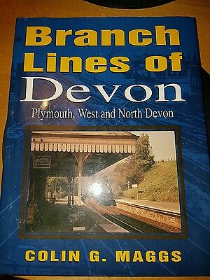 branch lines of Devon railway book Colin G Maggs