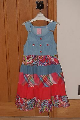 Girls CUTEY COUTURE Dress - Age 7-8yrs - Excellent condition