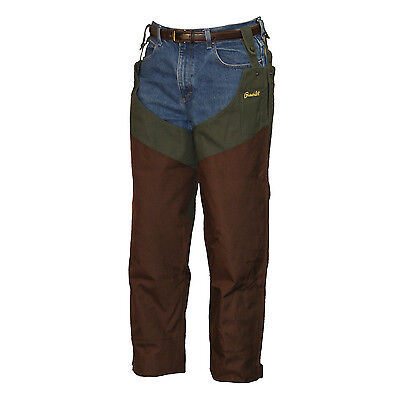 Gamehide Heavy Duty Upland Field Hunting Chap 12C Olive/Brown