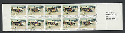 XG-AA410 NORWAY - Christmas, 1983 Architecture, 2K. MNH Booklet