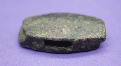 Medieval bronze strap junction 13th-15th century AD