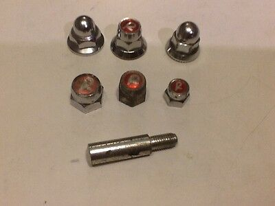 Raleigh Chopper MK 1 / 2 / 20s RSWs Etc R Nuts And Domed Nuts One NOS