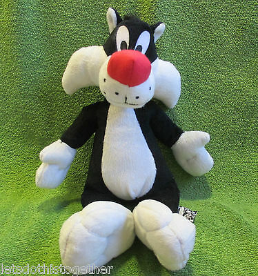 Boots Exclusive - Warner Bros Looney Tunes Sylvester The Cat Plush Soft Toy 12""