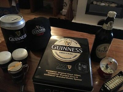 Job lot Guinness Collectors Memorabilia