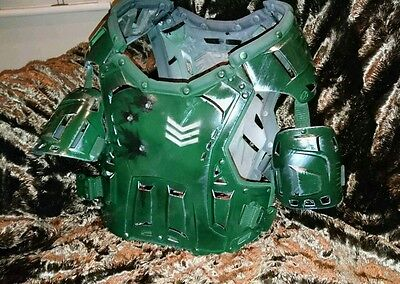 Fallout Inspired Post Apocalypse Battle Damaged Airsoft Cosplay Combat Armour