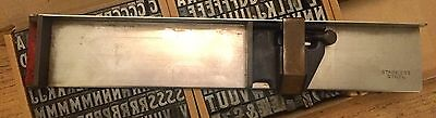 Letterpress Printing Composing Stick 10 Inches Stainless Steel