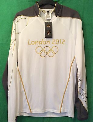 Olympic Games London 2012 Adidas Torch Bearer Shirt BNWT Small