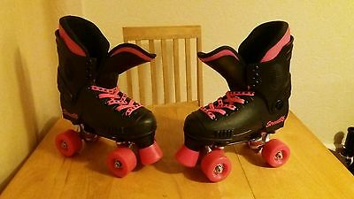 """Bauer style """"Sfr street""""quad rollerskates in a uk size 2."""
