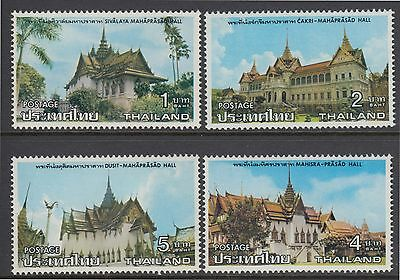 XG-AB360 THAILAND - Architecture, 1976 Royal Houses, 4 Values MNH Set