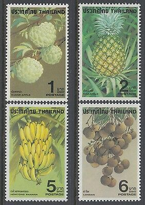 XG-AB380 THAILAND - Fruits, 1979 4 Values MNH Set