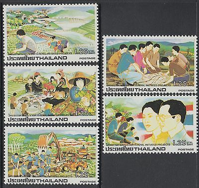 XG-AB430 THAILAND - Agriculture, 1984 National Development Program MNH Set