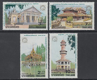 XG-AB450 THAILAND - Architecture, 1985 Thaipex '85, 4 Values MNH Set