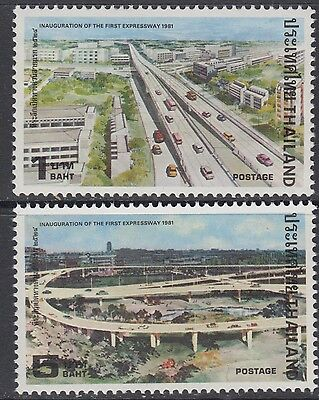 XG-AB500 THAILAND - Cars, 1981 First Expressway Inauguration MNH Set