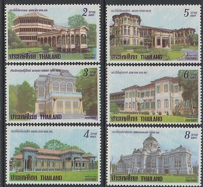XG-AB540 THAILAND - Architecture, 1991 Dusit Palace Royal Throne Rooms MNH Set
