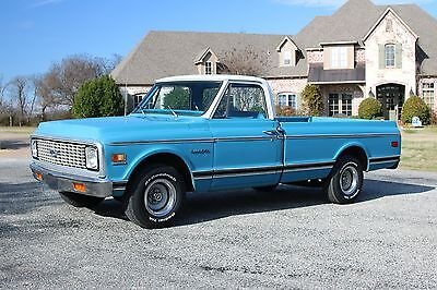 1972 Chevrolet C-10  1972 Chevrolet C10 LWB pickup *NICE TRUCK* ~great daily driver~