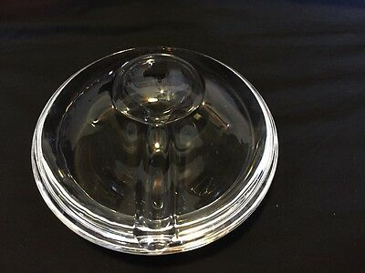 clear glass spoon rest