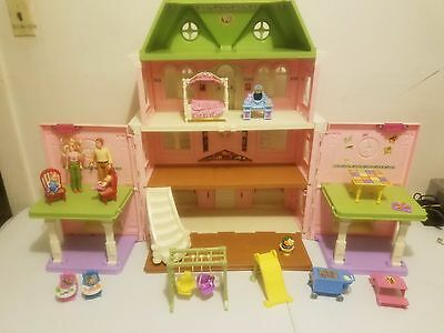 Fisher Price Loving Family Grand Mansion Dollhouse With Family & Accessories