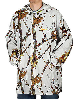 Gamehide Snow Camo Cover Up Jacket Woodlot Winter