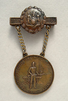 New Jersey Civil War Medal – Named & Numbered 29th NJ Vol Inf