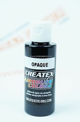 Createx Airbrush Colors 5211 Opaque Black 2oz. water-based paint