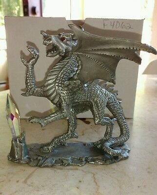DENICOLO SUNGLO Winged Dragon with crystals large