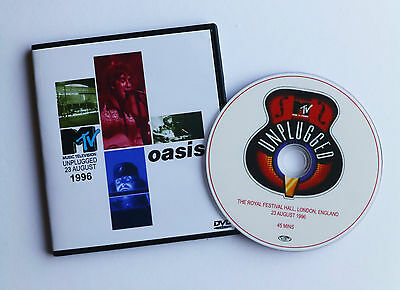 OASIS live MTV UNPLUGGED AUGUST 1996 & EXTRA'S    DVD