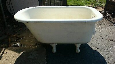 4 ft Antique Clawfoot Tub
