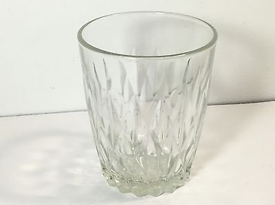 Vintage Duralex Crystal Cut Drinking Glass Spirits Made In France Lovely Item