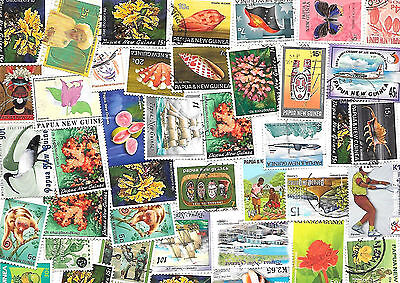 Bulk Lot Of Papua New Guinea Stamps ~ Great Mix ~Check Scan Used Bargain @ $5.00
