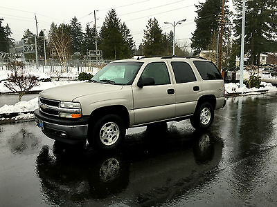 2006 Chevrolet Tahoe Tahoe 2006 Chevy Tahoe 4x4 SUV 4-Door 5.3L V8 Vortec Engine 2'Owner All Orig Like New